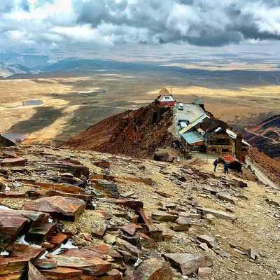 Mount Chacaltaya Bolivia
